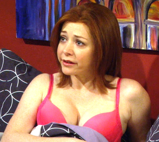 Alyson hannigan big tits