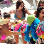 snooki huge tits pregnant almost naked bikini