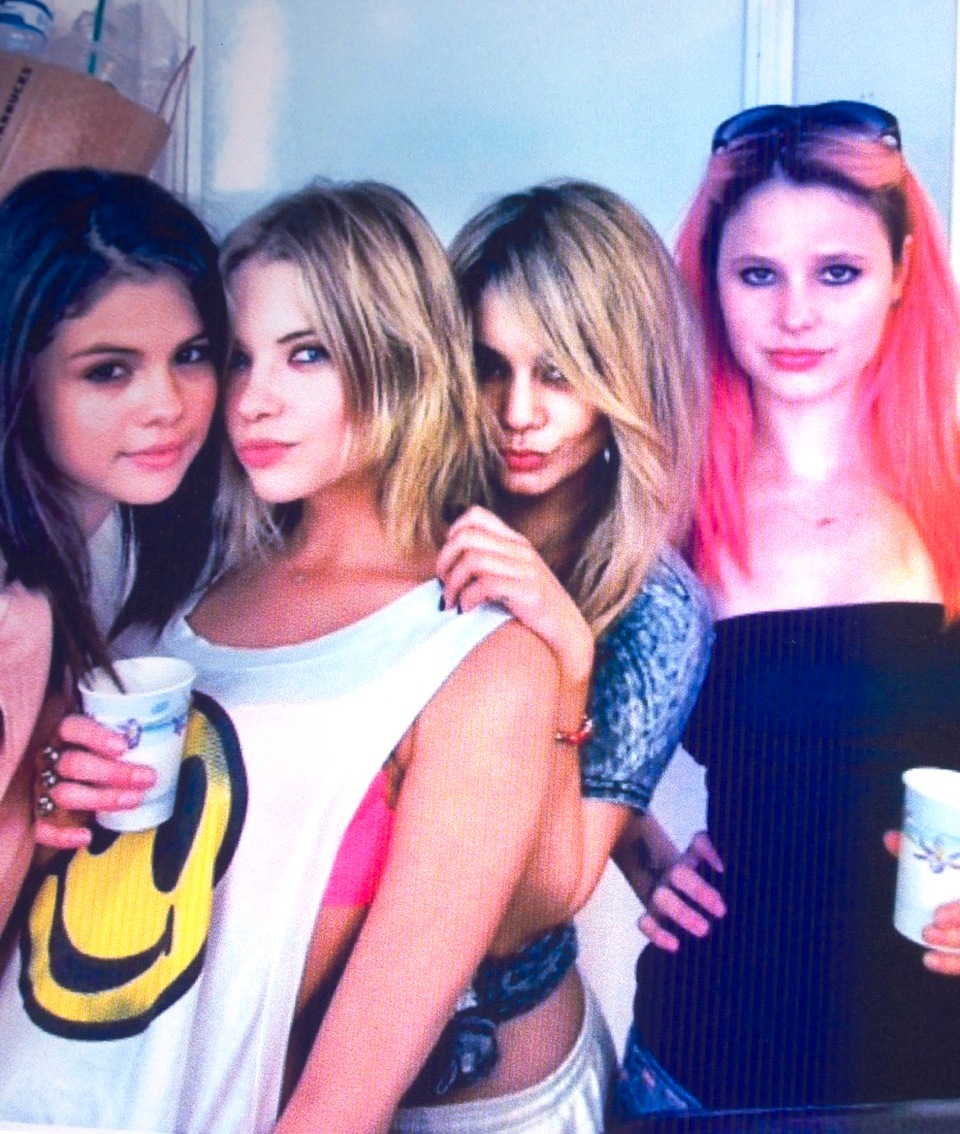 spring breakers the movie girls
