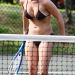 hayden panettiere breast implants bikini