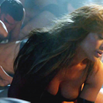 jennifer lopez tits and nip slip in her new video