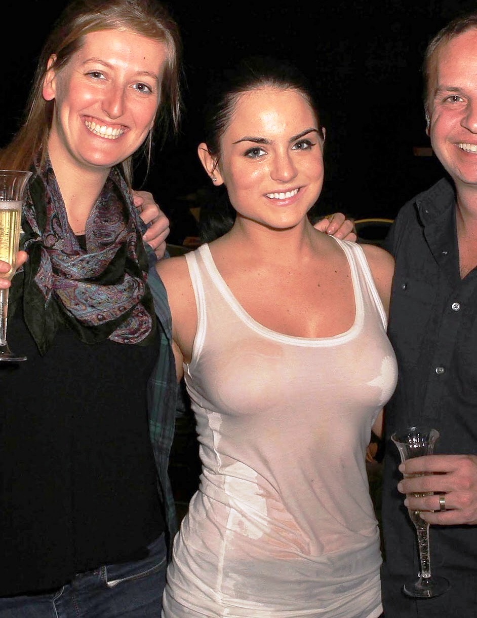 jojo levesque wet t shirt and big tits in concert