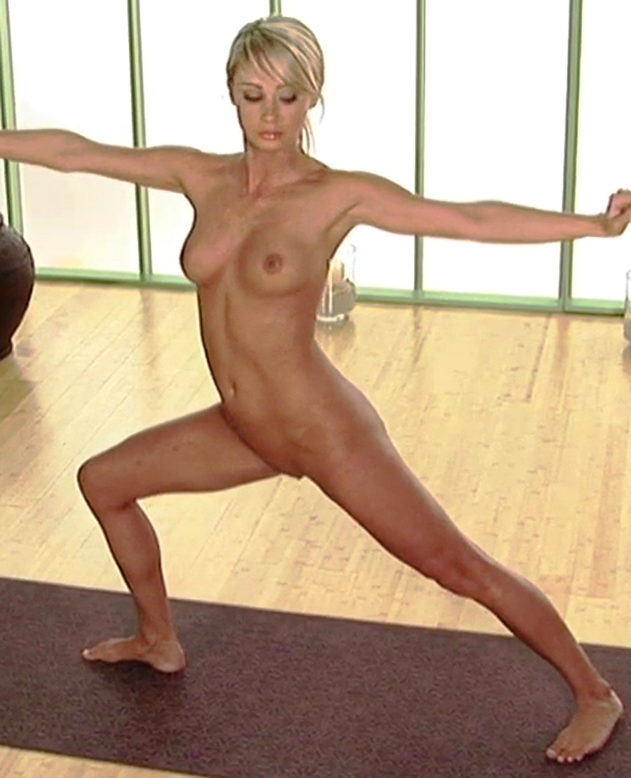 sara jean underwood naked yoga