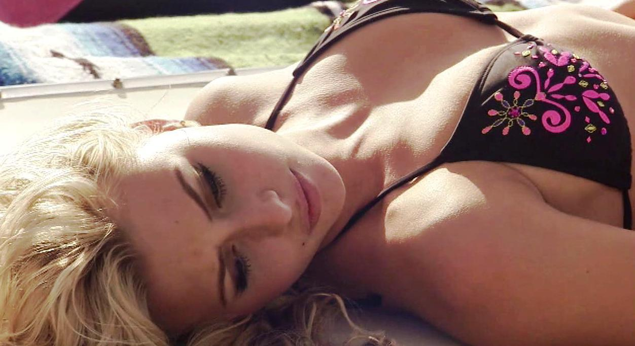 aly michalka and her hot friends in bikinis
