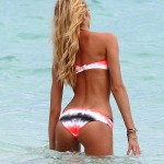 candice swanepoel tits and ass in bikini