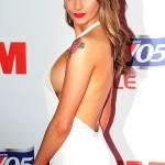 Jessica-Jane Clement - (sideboob) FHM One Hundred Party