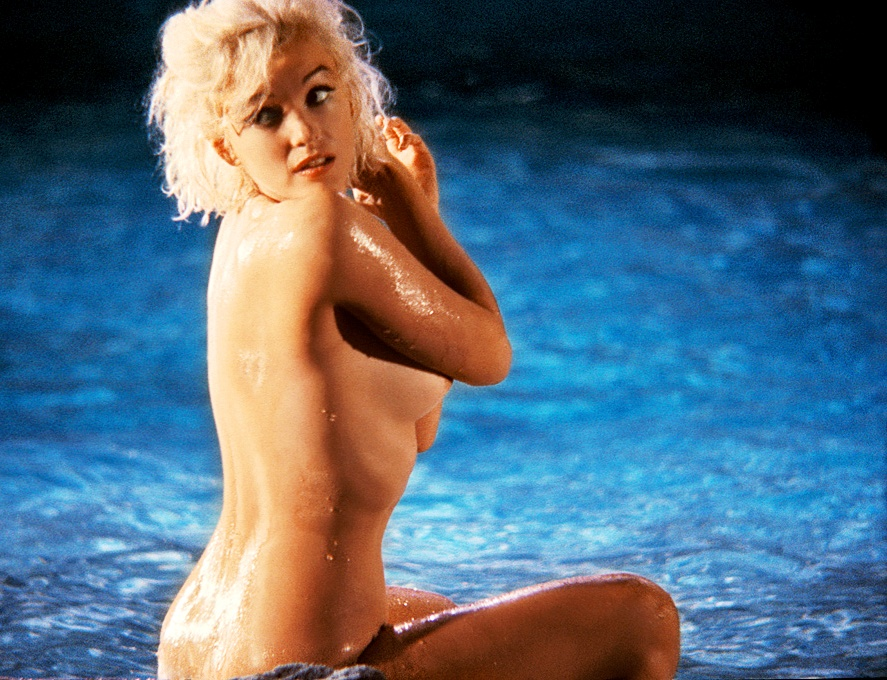 Marilyn Monroe topless color photo Critdick Classic Nudity: Volume 1; Marilyn Monroe Naked Jumpoffs