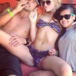 Paulina Gretzky pussy 150x150 Wayne Gretzkys Daughter Paulina Tweets Her Sexy Body For Super Attention SPREAD EAGLE!