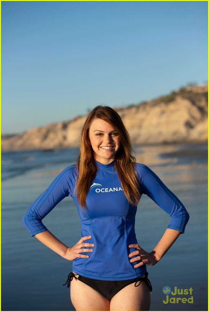 AImee Teegarden shows off her big cans in a bikini plus some body suit ...