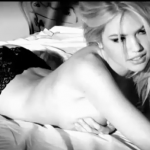 kate upton black and white lingerie photo shoot