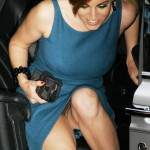 Kelly Brook reveals more than intended, arriving for the UK premiere of 'Three'London, England - 02.05.06Credit: WENN
