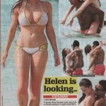Helen Flanagan cameltoe 150x150 Helen Flanagan Busts Out Of This Almost See Thru Bikini & Shows Crazy Cameltoe