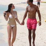 Helen Flanagan tits bikini 150x150 Helen Flanagan Busts Out Of This Almost See Thru Bikini & Shows Crazy Cameltoe