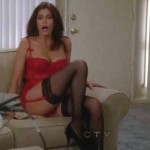 teri hatcher cleavage and ass desperate housewives