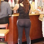 kim kardashian ass in spandex 150x150 Kim Kardashian Ass Filled Bikini Pics Plus A See Through Shirt & Some Spandex Butt Shots
