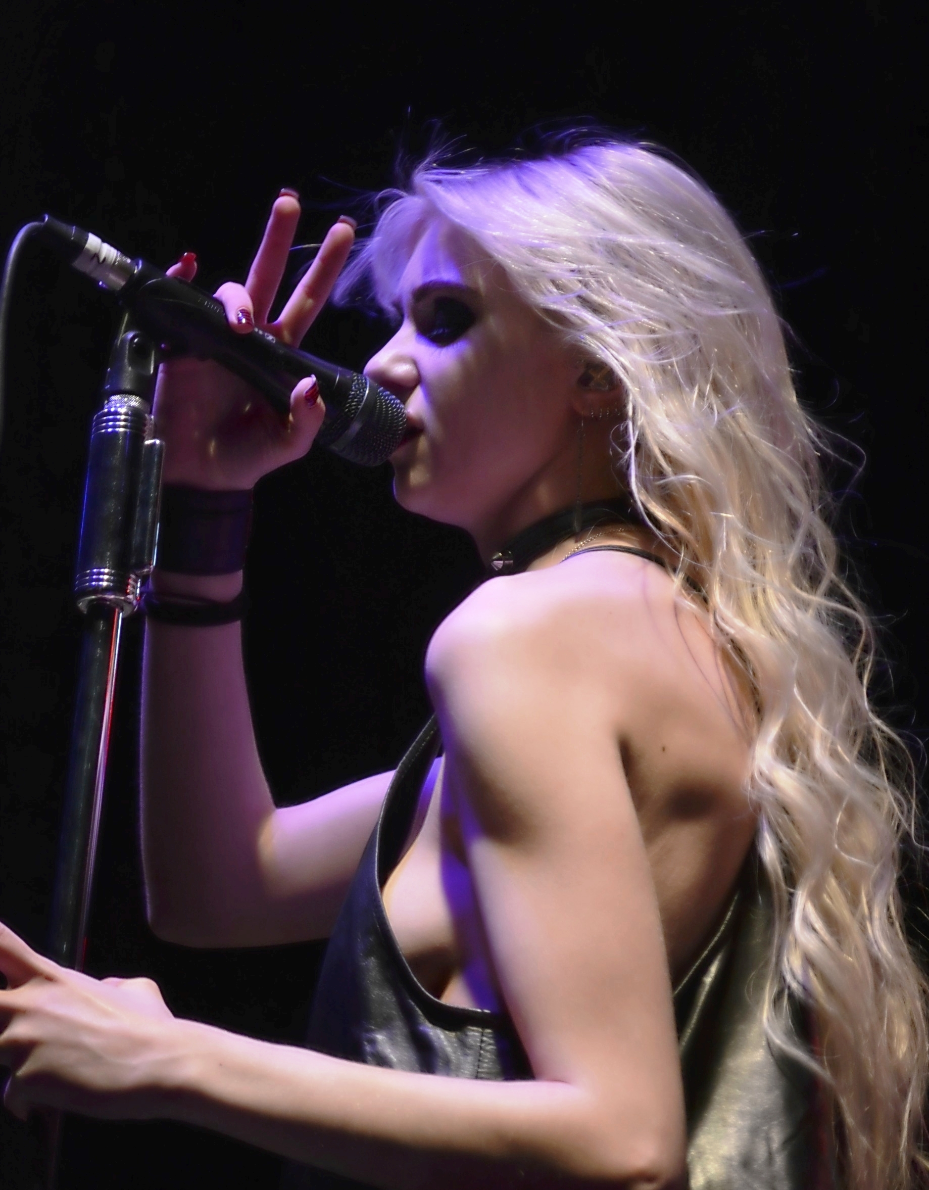 taylor momsen concert flash topless