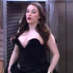 Kat Dennings dress two broke girls 150x150 Kat Dennings Has Two Big Tits On Two Broke Girls