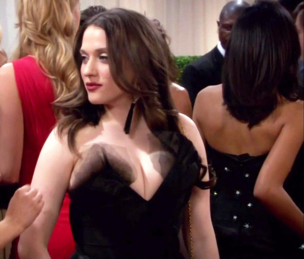 Kat Dennings two broke girls tits 1024x872 Kat Dennings Has Two Big Tits On Two Broke Girls