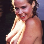 linda blair tits 150x150 Linda Blair The Little Girl From The Exorcist Has Some Huge Milkers And A Monster Bush