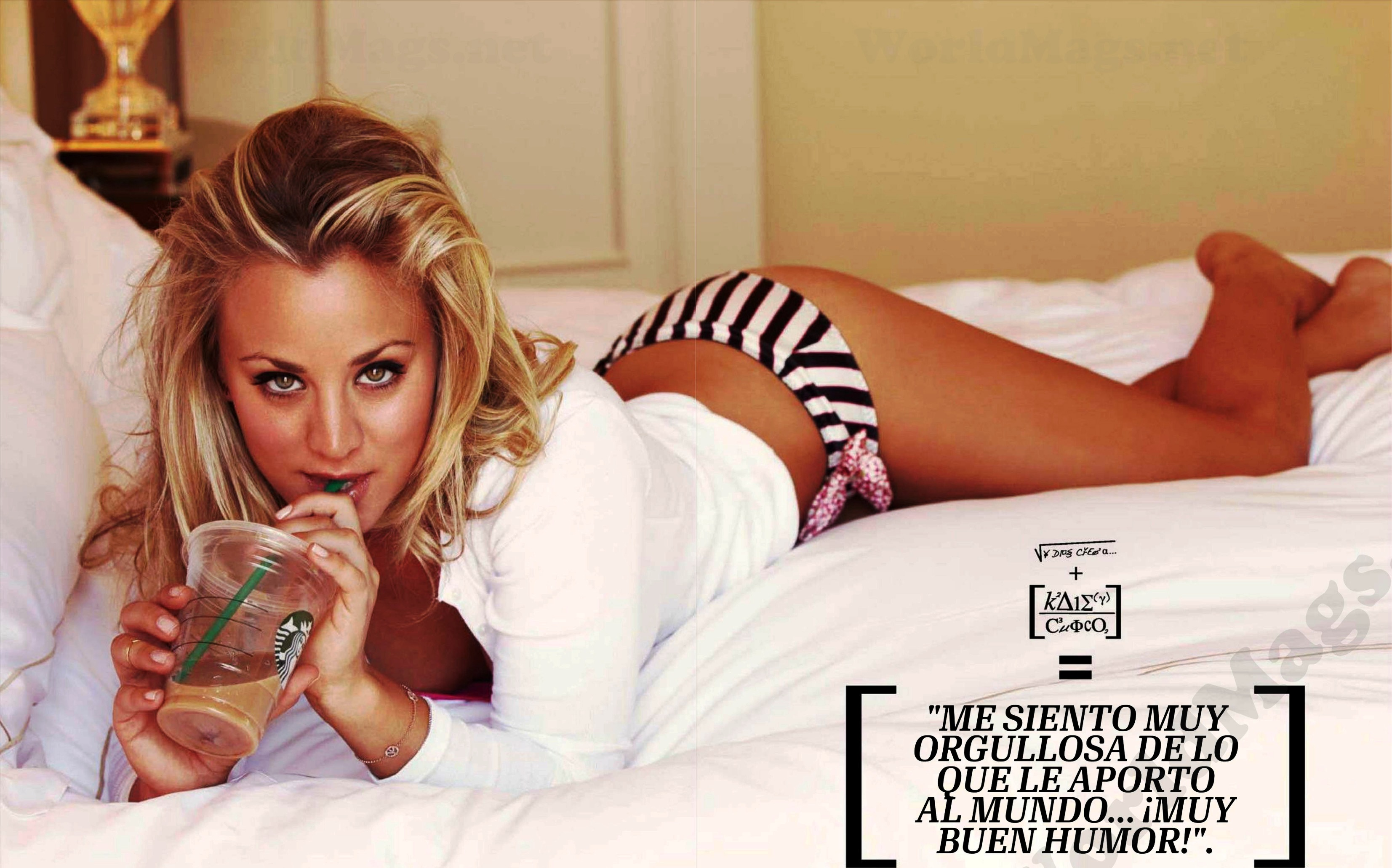 Kaley Cuoco Posed For Esquire, But Did She Make This Pose? Doubt It ...
