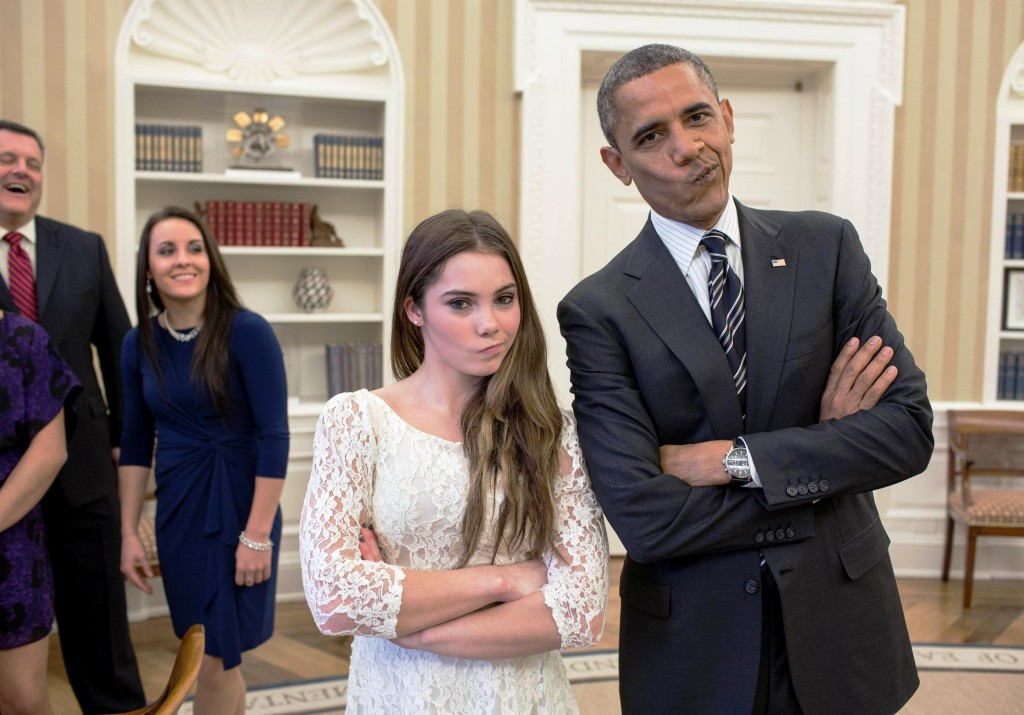 mckayla maroney barack obama