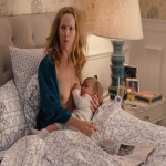 Leslie Mann breastfeeding