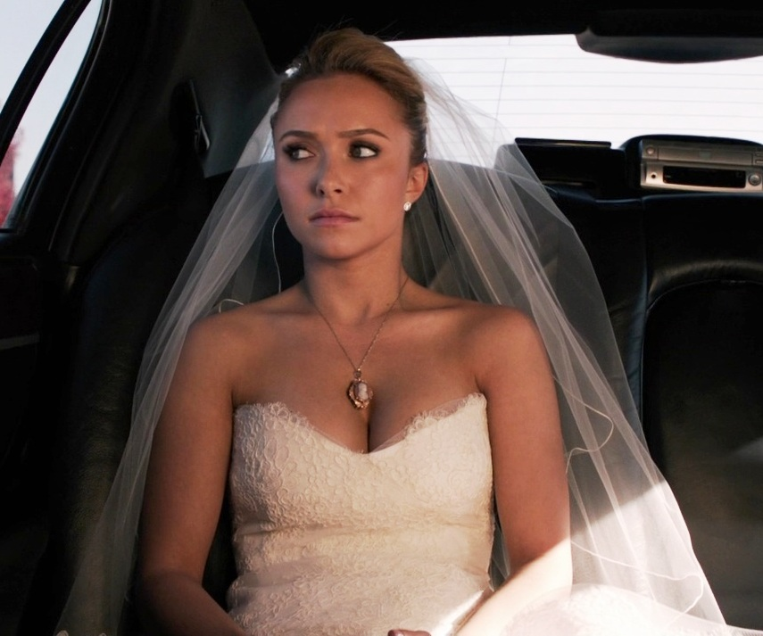 Hayden.Panettiere. wedding dress
