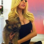 zahia dehar cleavage 150x150 Zahia Dehar Is Really A Dirty Prostitute & A Human Barbie Doll  LOOK AT HER WAIST & TITS