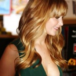 Jennifer Lawrence boob slip