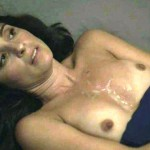 Shiri Appleby cum tits 150x150 Shiri Appleby May Be Pregnant Now, But She Recently Got Show Fake HBO JIZZ On Her Boobs In Girls!