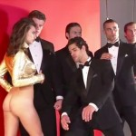 emily ratajkowski ass nude 150x150 Emily Ratajkowski Latest Naked Pictures From 2013 Outtakes & Robin Thicke Video