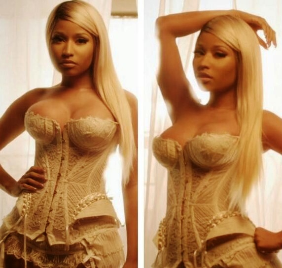 Nicki Minaj lingerie Is It Me, Or Is This The Best Nicki Minaj & Her Big Tits Have Ever Looked?