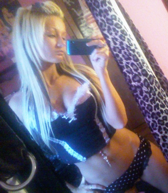 hot blond amateur self shot