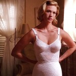 January Jones mad men underwear