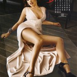 KELLY BROOK CALENDAR PHOTO SHOOT