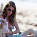 GISELE BUNDCHEN PREGNANT BEFORE AND AFTER BIKINI PICS (1)