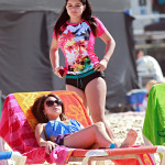 ariel winter on the beach 2014 (7)