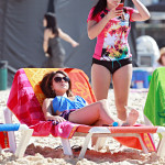ariel winter on the beach 2014 (2)