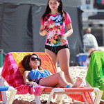 ariel winter on the beach 2014 (15)