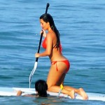 kim kardashian big ass in red bikini (8)