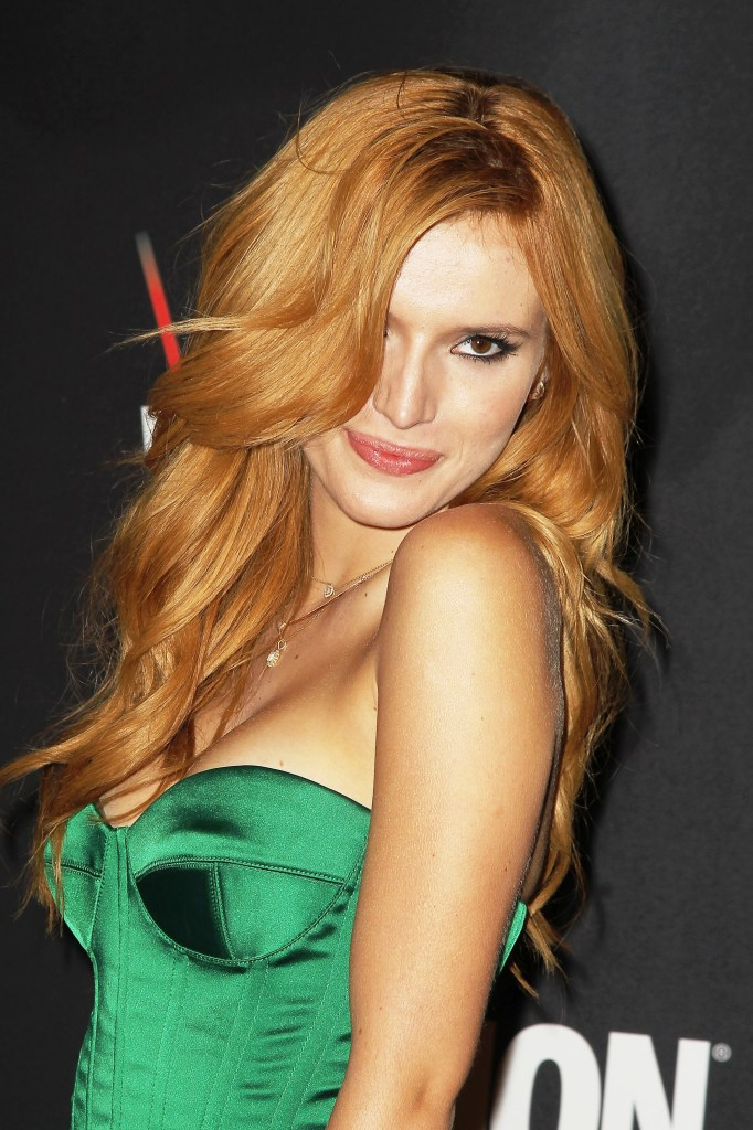 bella thorne cleavage