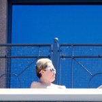 miley cyrus nude sunbathing topless (39)