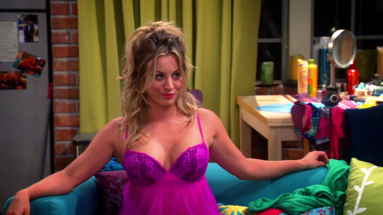 kaley cuoco breasts on big bang (14)