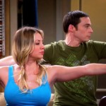 kaley cuoco breasts on big bang (9)