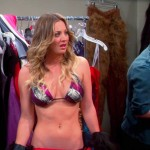 kaley cuoco breasts on big bang (6)