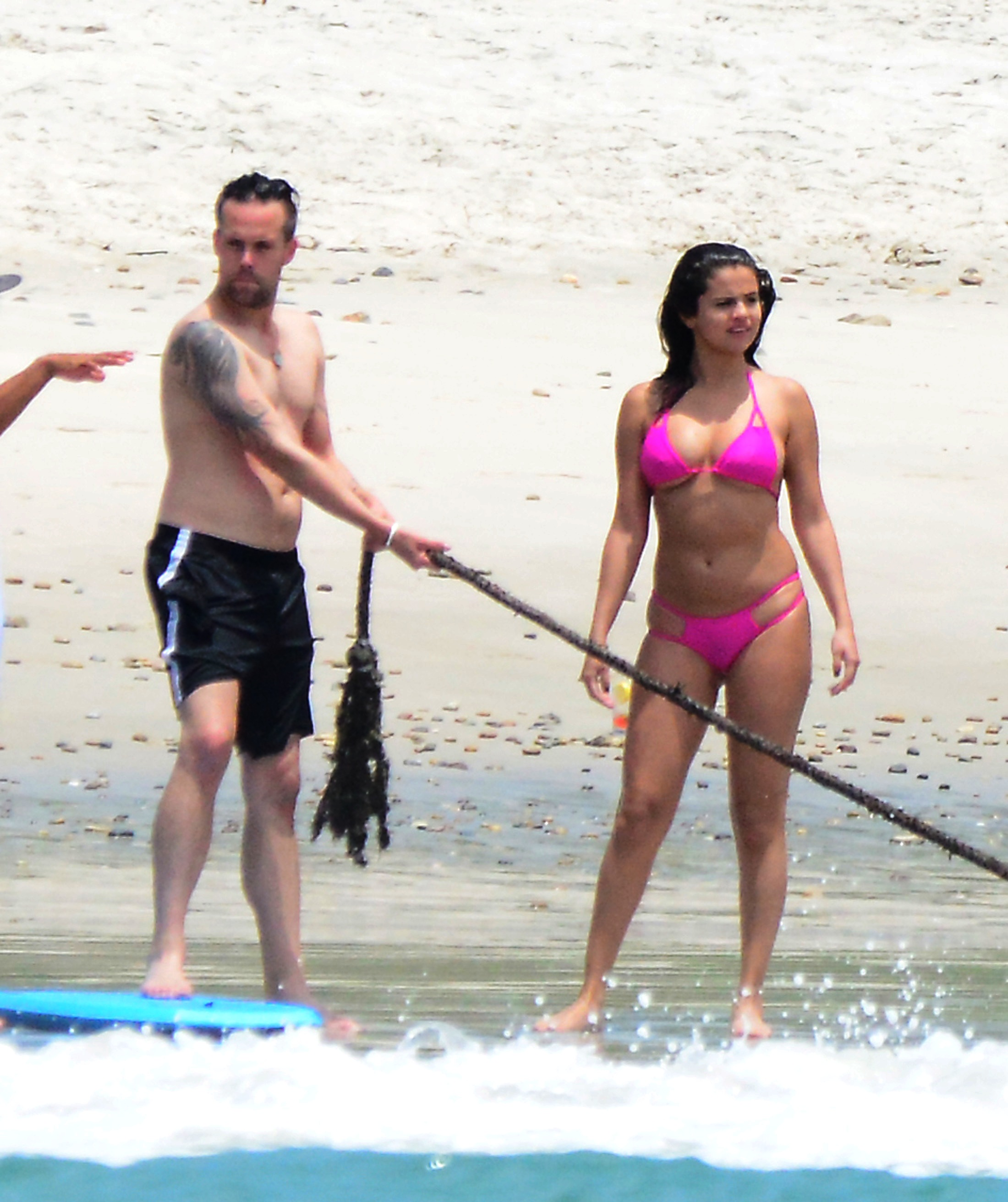 selena gomez weight gain bikini purple (2)